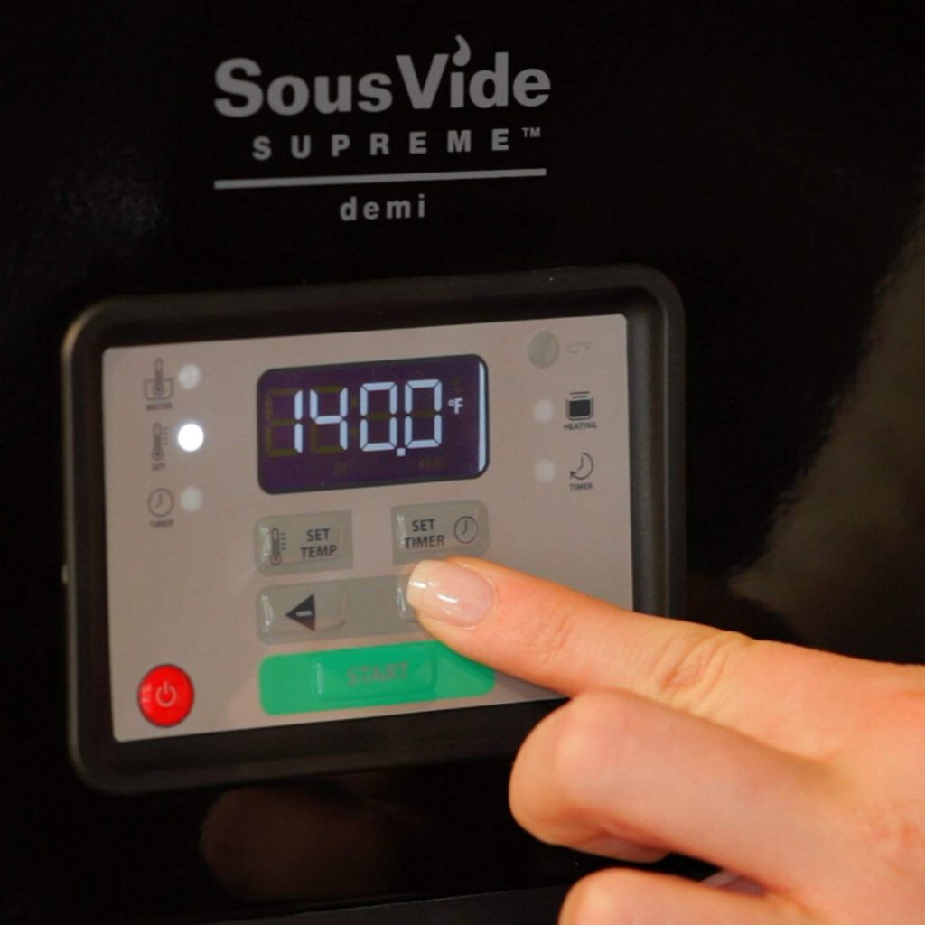 indicateur facile suprem sous vide